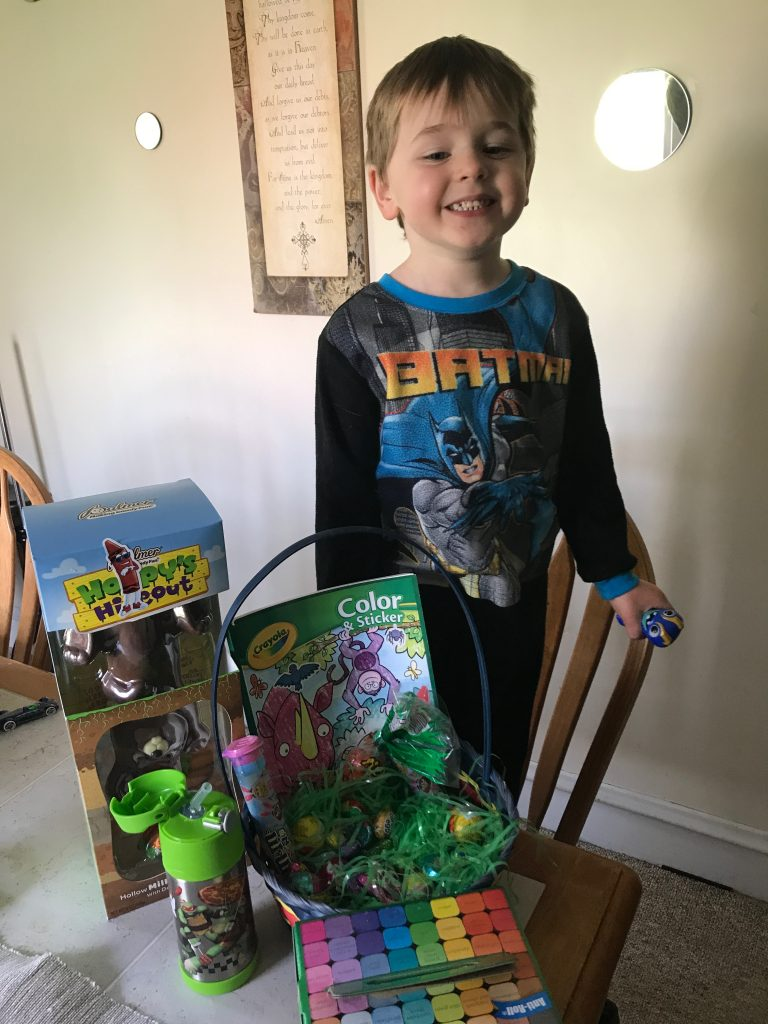 non candy easter basket ideas for boys