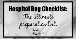 hospital bag checklist and printable