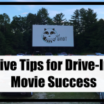 Before heading to the drive in check out my five drive in movie tips for a successful night out.