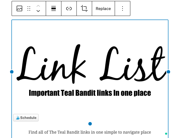 Get rid of your Linktree, Campfire, TapBio pages and create your own branded link list right on your website.